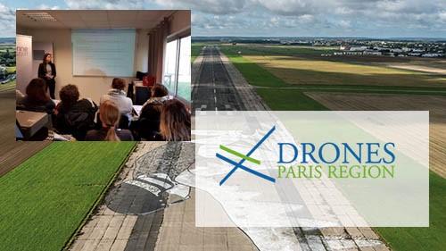 Cluster Drones Paris Région a accueilli cet Eco'Réseau