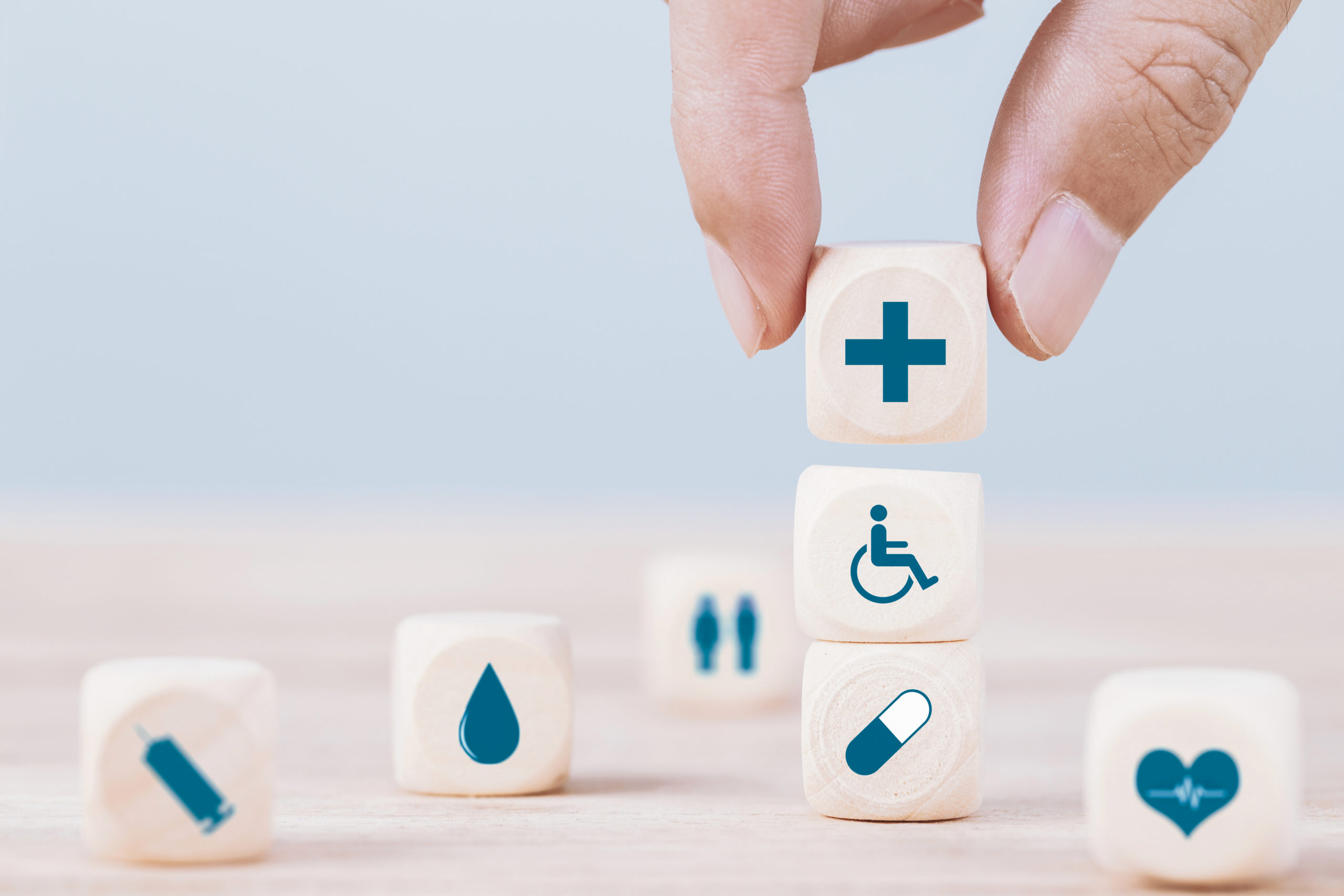 Choix de symboles pour la santé